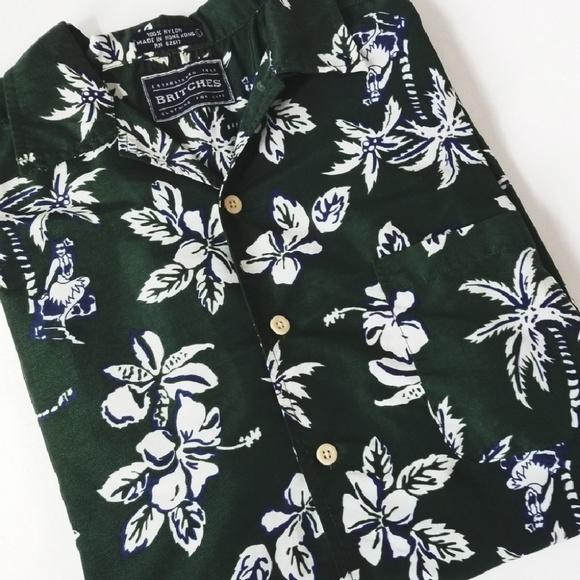 Britches Other - BRITCHES Men's Hawaiian Buttondown Shirt!